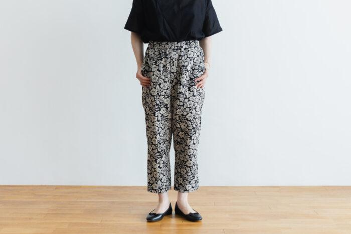 J/W/B SARROUEL TAPERED GOM PANTS black 1