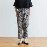J/W/B SARROUEL TAPERED GOM PANTS black