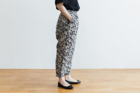 J/W/B SARROUEL TAPERED GOM PANTS black 2