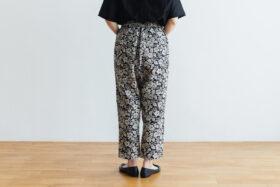 J/W/B SARROUEL TAPERED GOM PANTS black 3