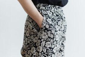 J/W/B SARROUEL TAPERED GOM PANTS black 4