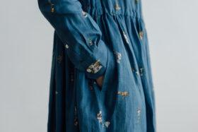 O/P/L SURPRISE FRONT OPEN SHIRT DRESS 5
