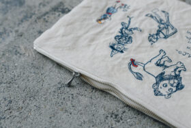OZ EMBROIDERY POUCH 4