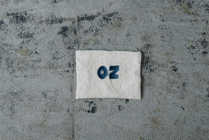 OZ EMBROIDERY POUCH 2