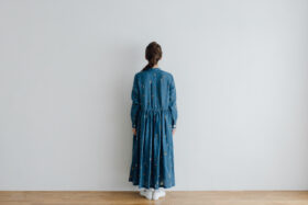 O/P/L SURPRISE FRONT OPEN SHIRT DRESS 3