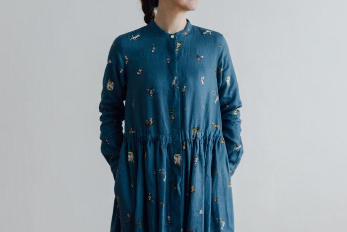 O/P/L SURPRISE FRONT OPEN SHIRT DRESS 4