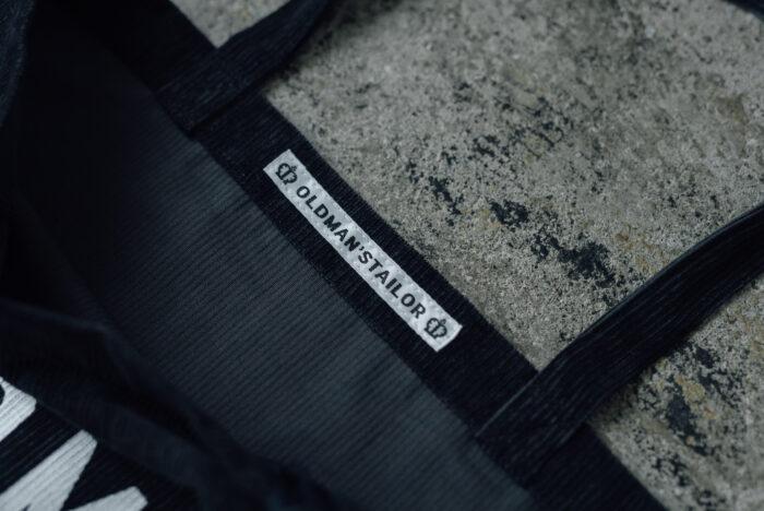 PRINT TOTE BAG charcoal gray 3