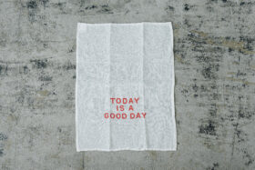 TODAY IS A GOOD DAY KITCHEN CLOTH 1
