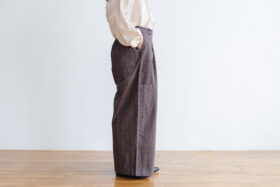 Pocket Wide Pants gray 2