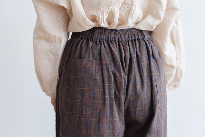 Pocket Wide Pants gray 4