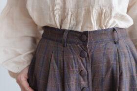 Pocket Wide Pants gray 5