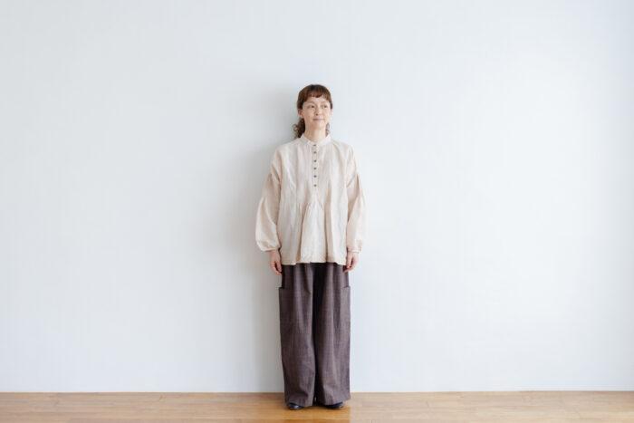 Pocket Wide Pants gray 6