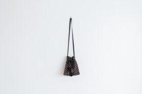 Embroidery Shoulder Bag black 1
