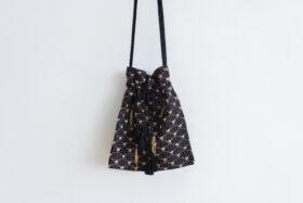 Embroidery Shoulder Bag black 2