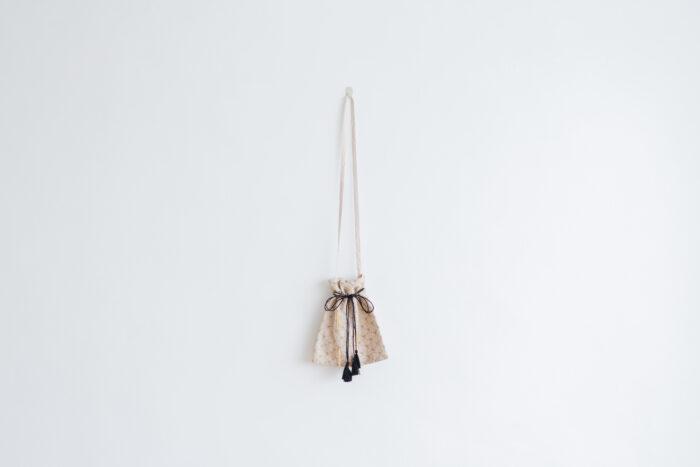 Embroidery Shoulder Bag L.gray 1