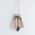 Embroidery Shoulder Bag L.gray