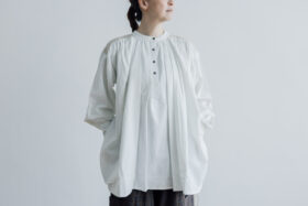 Embroidery Long Blouse B.white 1