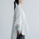Embroidery Long Blouse B.white