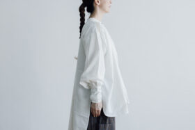 Embroidery Long Blouse B.white 2