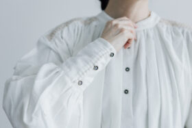 Embroidery Long Blouse B.white 4